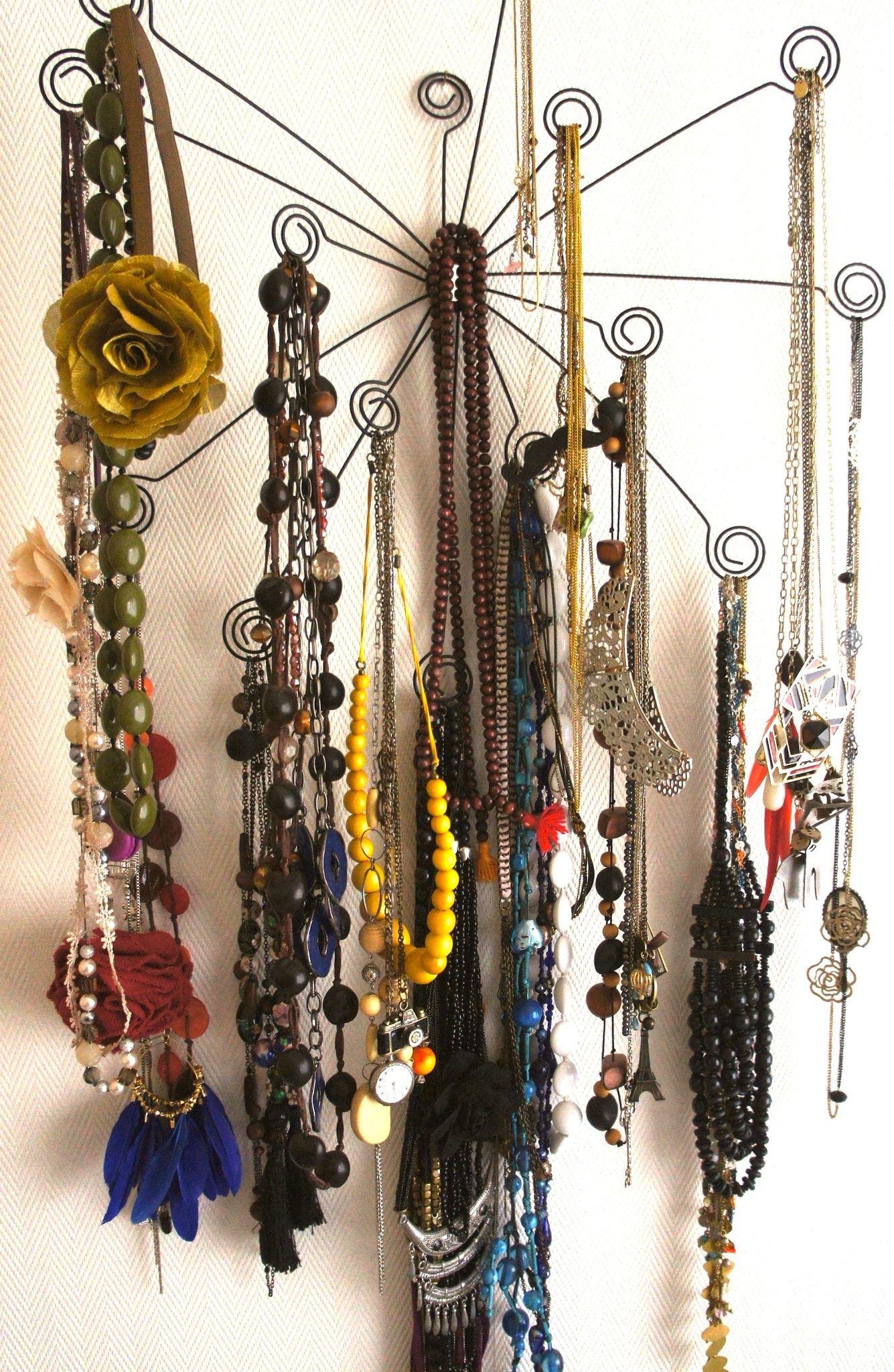 diy : inspirations pour ranger ses bijoux - clara circus