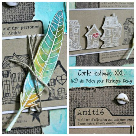 carte Collage + text