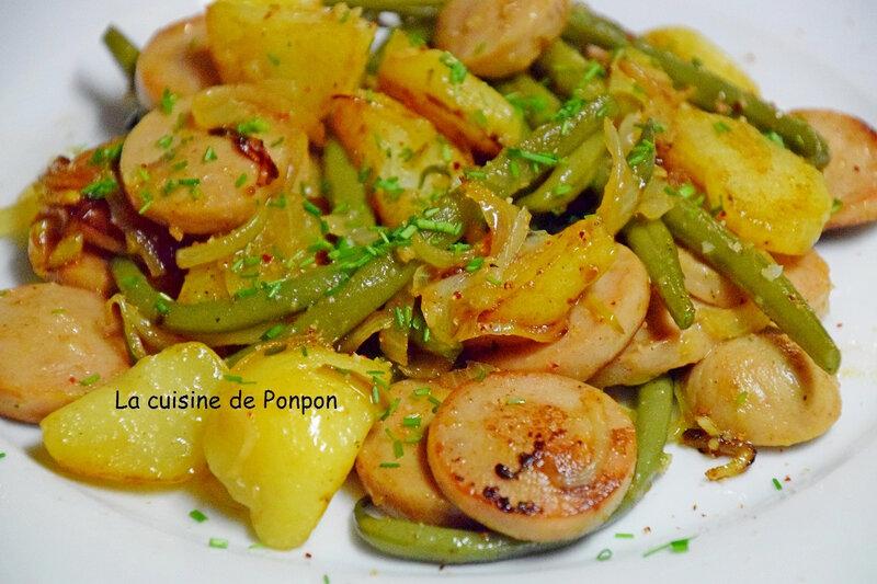 pommes de terre boudin et haricot (8)
