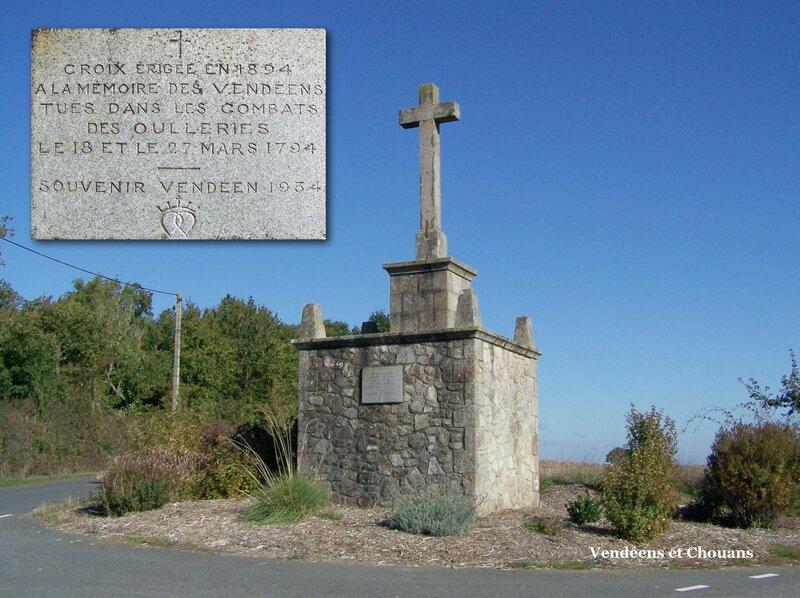 Croix des Oulleries 1794