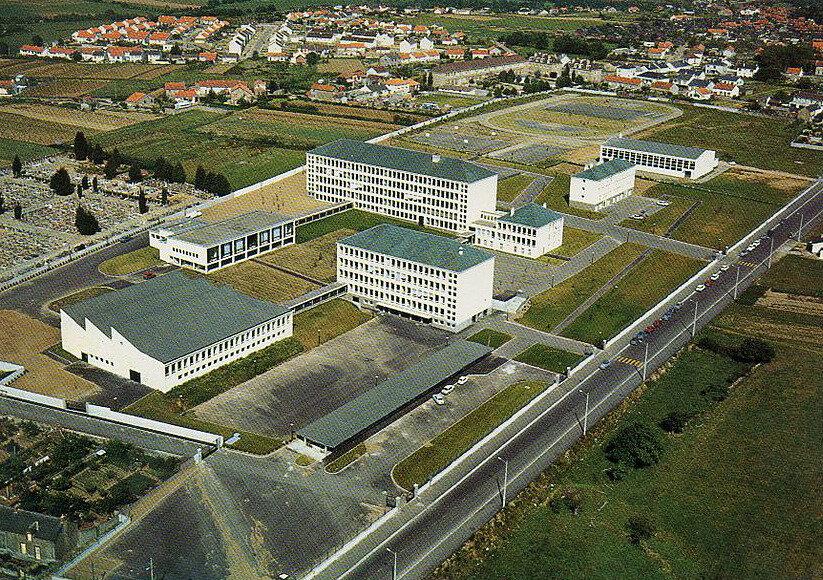 Couëron, agglomération de Nantes lycée jean jacques Audubon