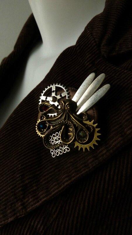 pieuvre bronze (4)