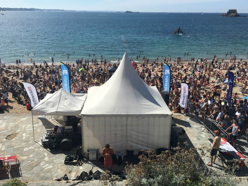 festival La Route du Rock 2016 Saint-Malo plage Bon Secours