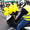 Acte 53 les gilets jaunes niçois sont descendus a nouveau dans les rues de nice pour crier leur colère contre macron !