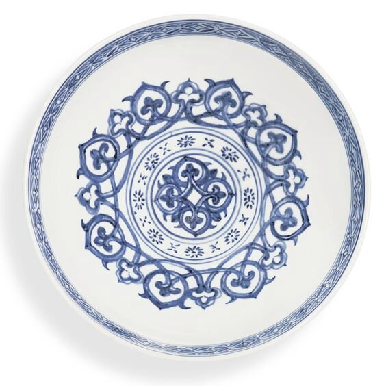 A fine blue and white 'lianzi' bowl, Mark and period of Xuande