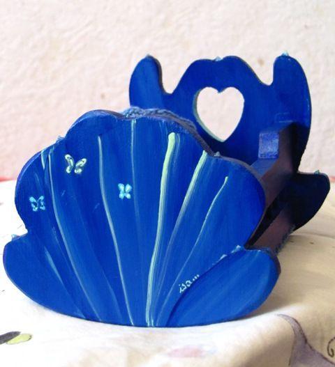 lit au papillon bleu 1