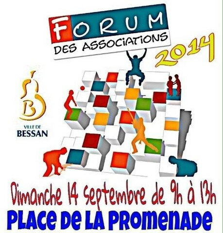 Affiche forum des associations 2014
