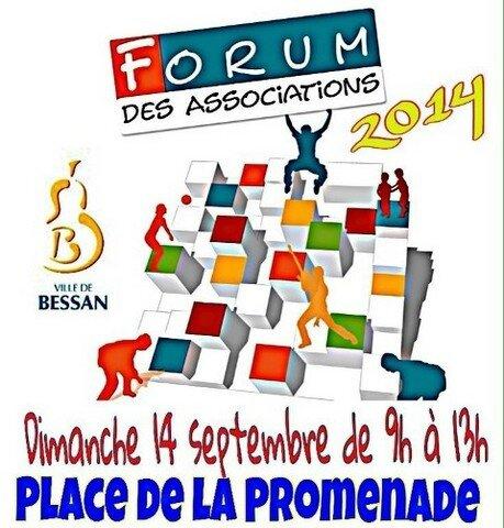 Affiche forum des associations 2014