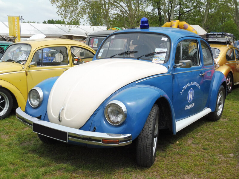 VOLKSWAGEN VW1200 Coccinelle Saobracajna Milicija Zagreb Molsheim (1)