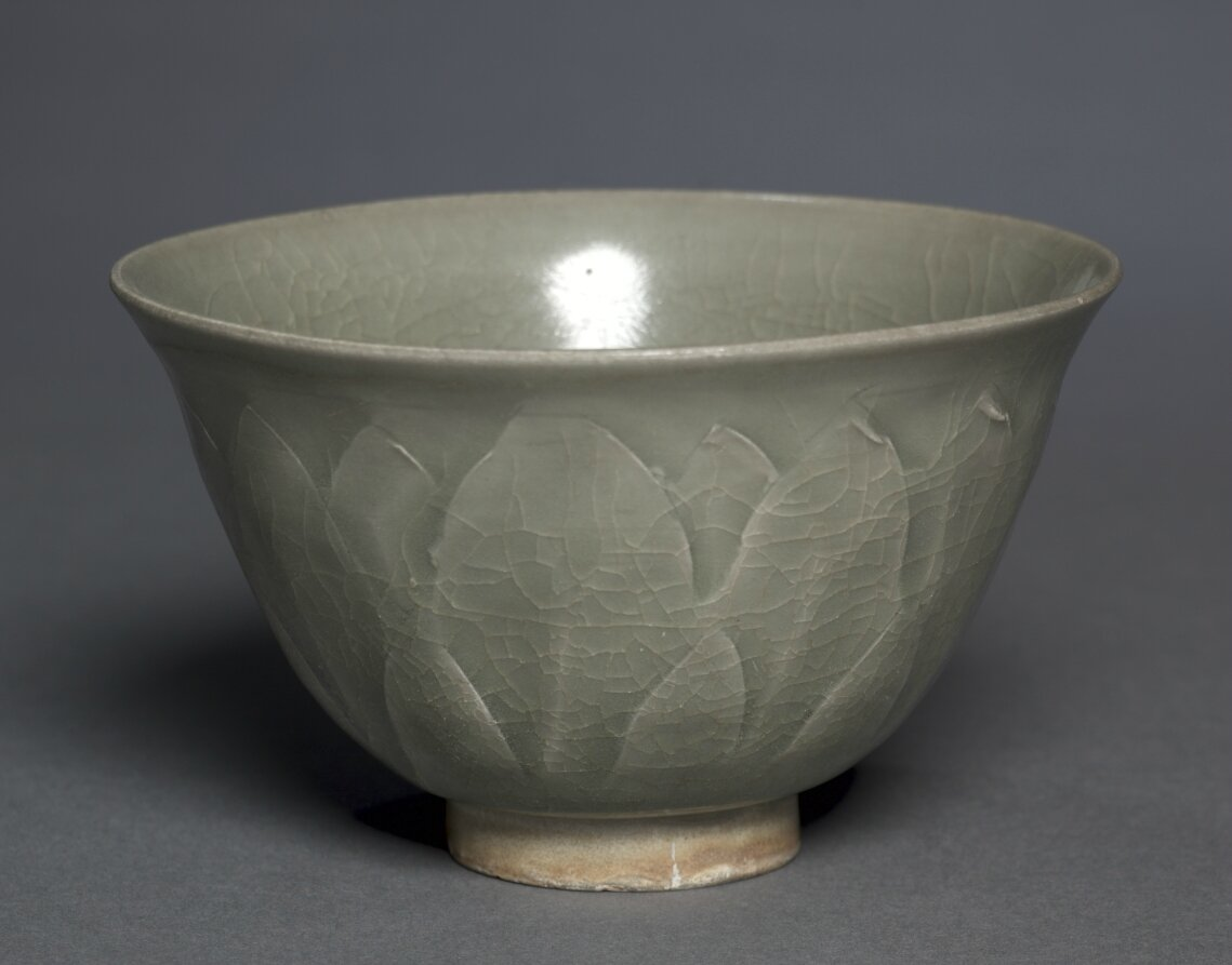 Bowl, Northern Celadon Ware, Yaozhou type, 11th Century, China, Northern Song dynasty (960-1127)