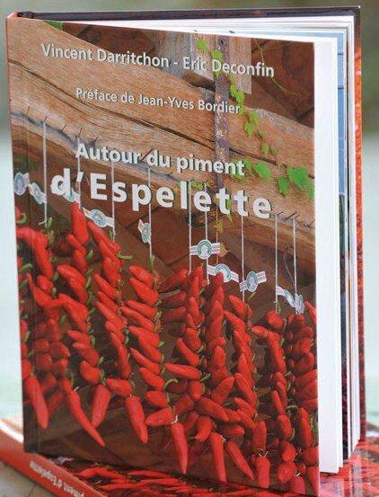 Couverture livre Piment d'Espelette
