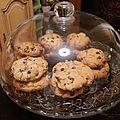 Cookies noix et chocolat