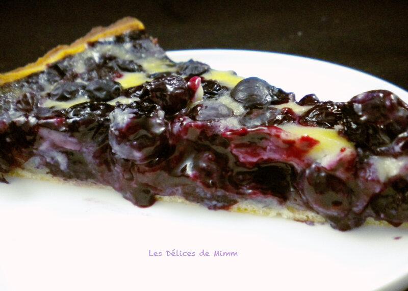 La tarte aux myrtilles facile et délicieusement bonne 3