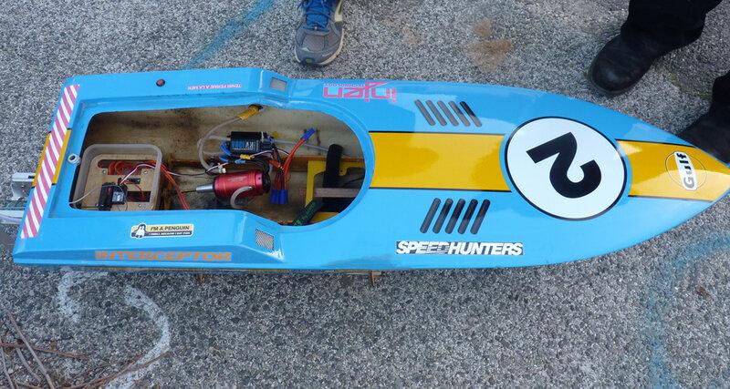 Racer électrique mais ancien Thermique .