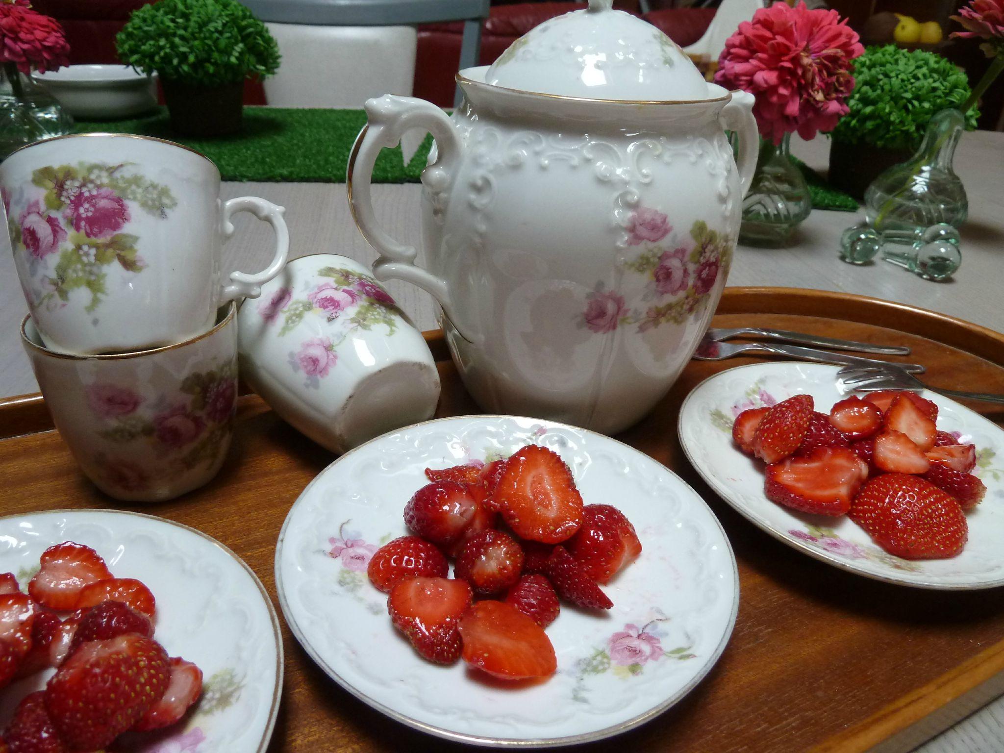 salade de fraises - www.passionpotager.canalblog.com