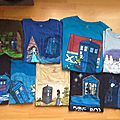 3ème partie : t shirts karen hallion (disney/doctor who)