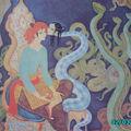 Hassib et la reine des serpents...la beauté,