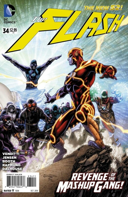 new 52 flash 34