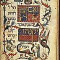 Barcelona haggadah, catalonia, spain, 14th century