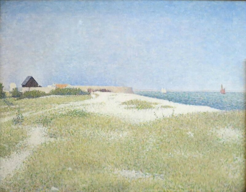 Georges_Seurat_-_View_of_Fort_Samson