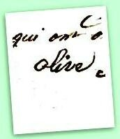 O comme OLIVE