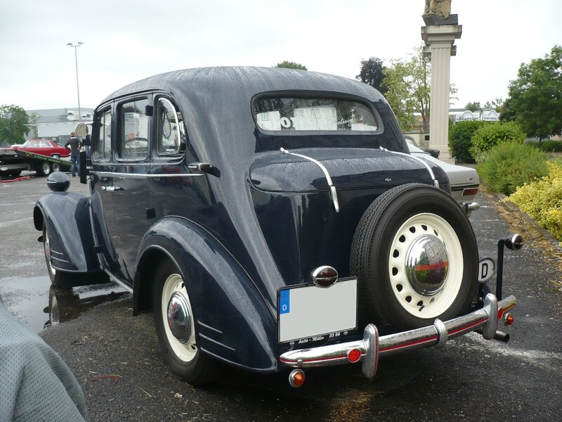 OPEL Super Six 2,5 Liter berline Speyer (2)