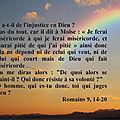 Rm 9, 14-20 : dieu serait-il injuste ? comment entendre la pré-destination ? par jean-marie martin