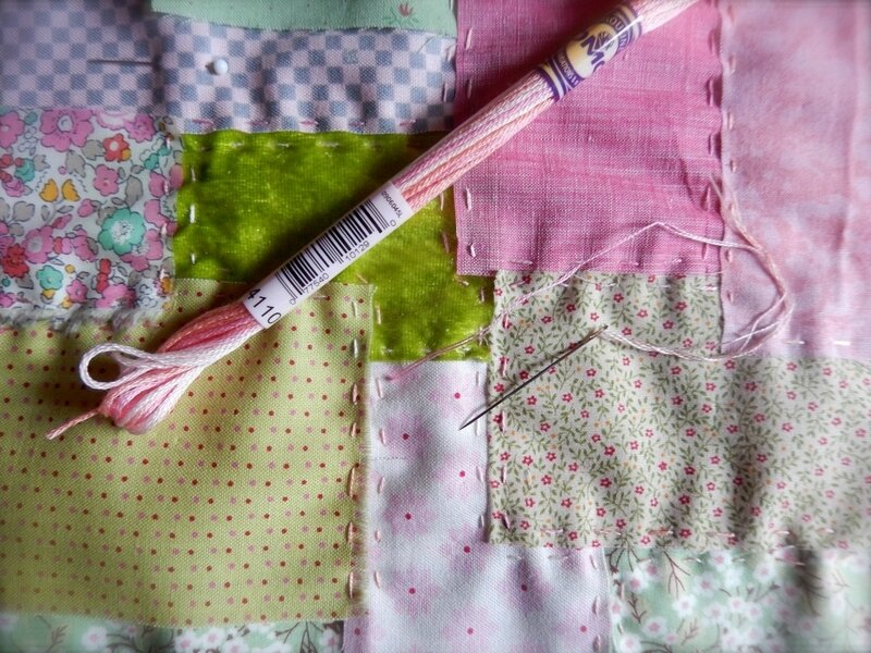 BouquetDe Printemps Quilting