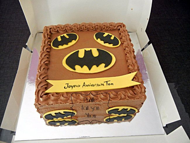 gateau batman prunille 2