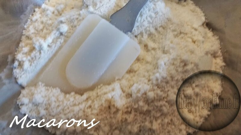 Macarons au lemon curd Thermomix 2