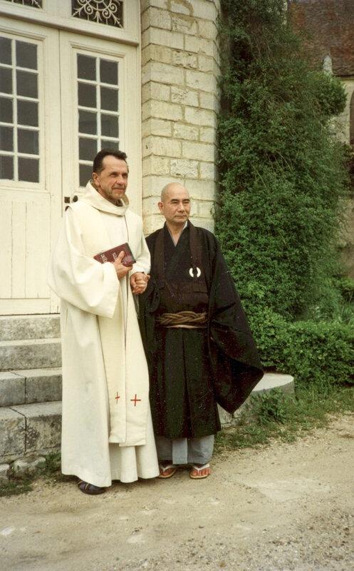 1995-01- J Breton et Eizan Rôshi