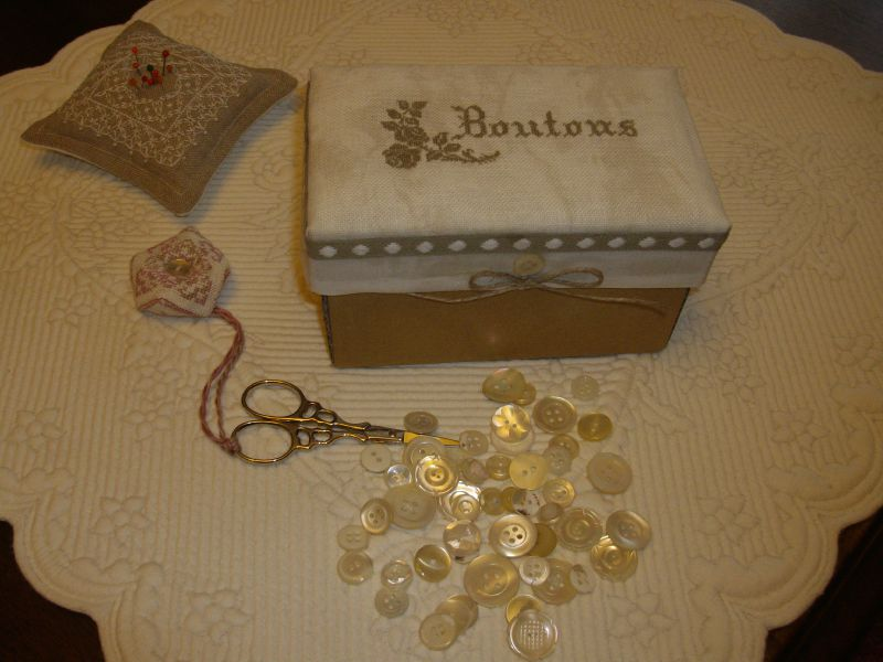 boîte Boutons