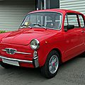 Autobianchi bianchina berlina 1957-1969
