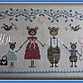# broderie # tralala # adorables petits n'ours #