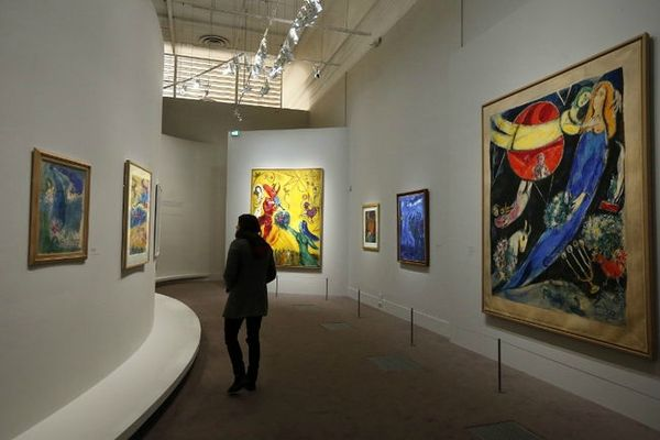 Chagall MLuxembourg 2013