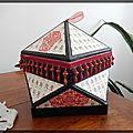 Boite japonaise - cartonnage