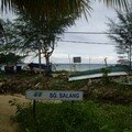 Salang, the last city in the Norh of Tioman where we stayed