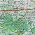 Carte de Villiers à Montfort l'Amaury