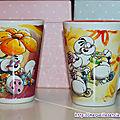 Ma collection de mugs diddl presque complète...