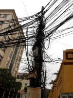 Les rues et câbles en rentrant (3)