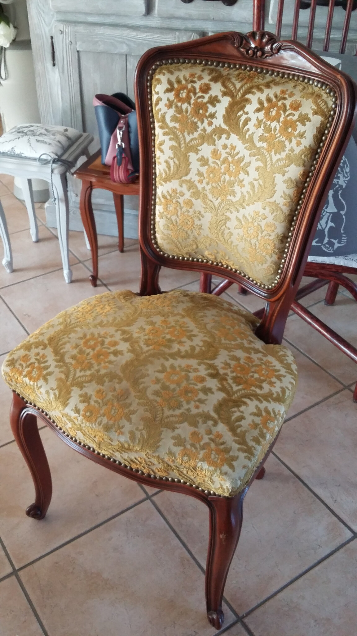 Chaise Relooke Campagne Chic