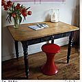Table moulurée 40 in situ2