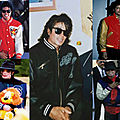 Varsity jacket, souvenir jacket et flight jacket : les blousons de michael jackson