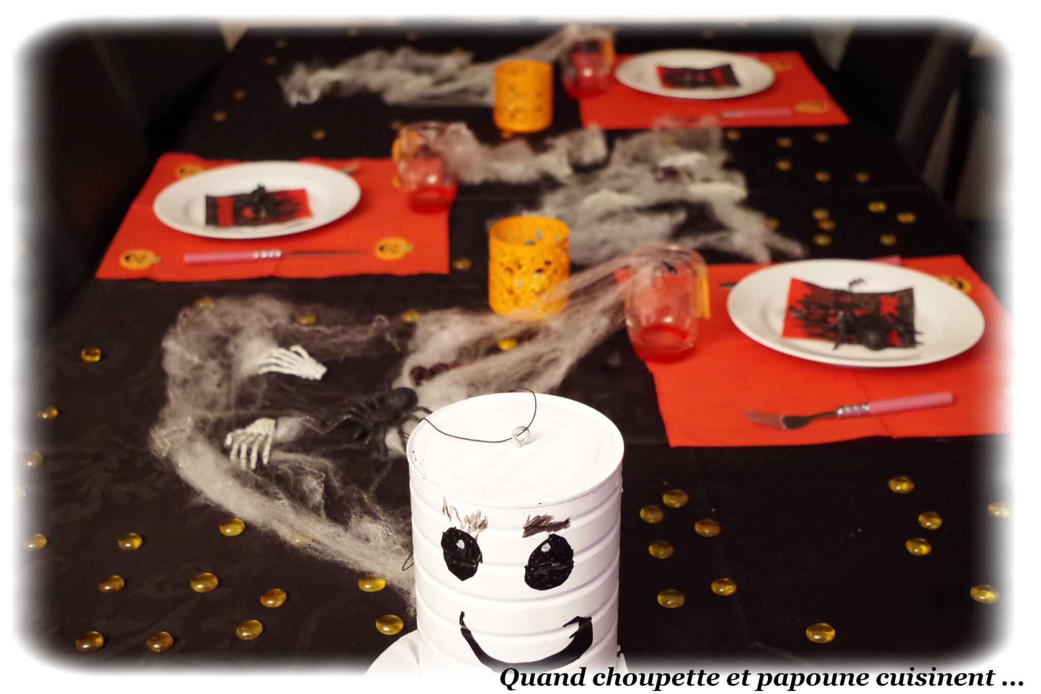TABLE HALLOWEEN 2019 DRESSEE PAR MA PETITE FILLE ...