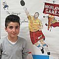 Bouille-loretz: molière et les highland games