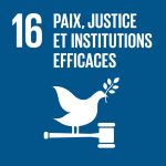 ODD16 Paix, justice et institutions efficaces