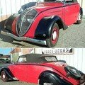 PEUGEOT - 402 Cabriolet Roadster - 1937