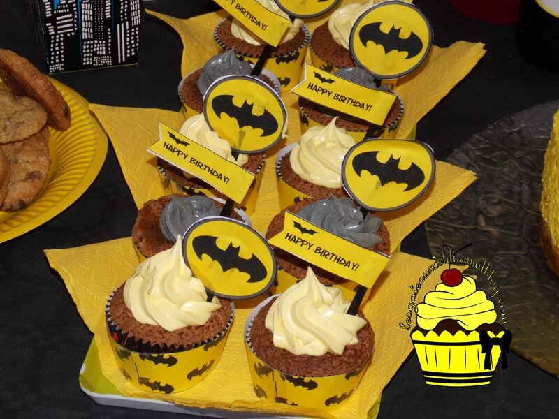 2015 11 14 - Sweet Table Batman (8)