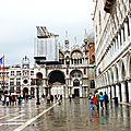 Venise , palais des Doges et basilique San Marco