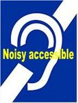 Logo noisy accessible sourds